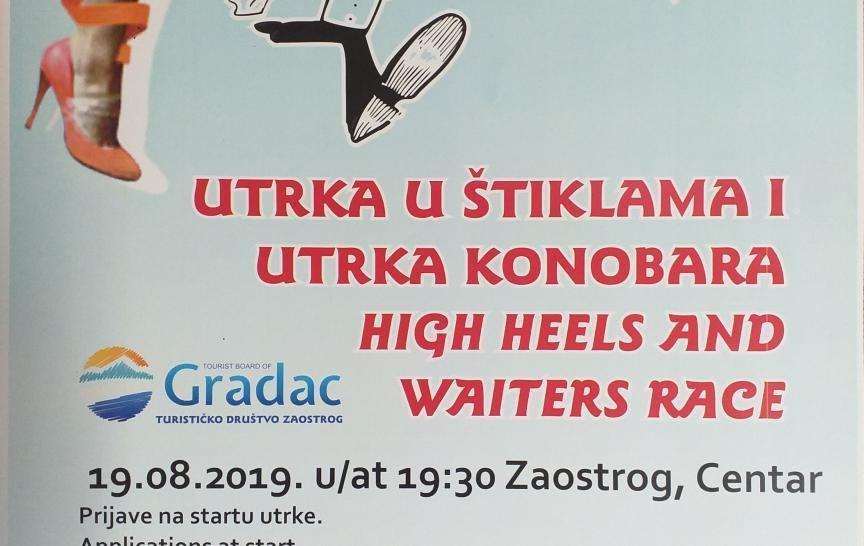 High heels race in Zaostrog